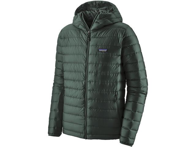Patagonia Down Sweater Hoodie Herr Carbon